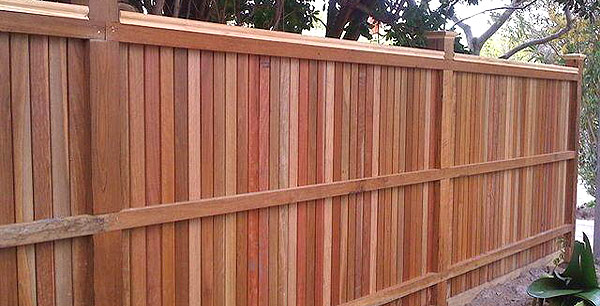 Closeboard fencing timber tanalised protected